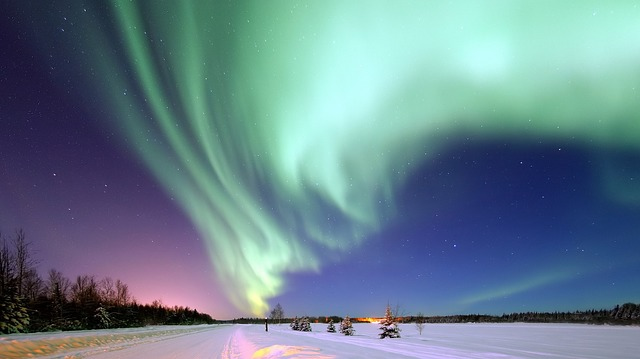 Des aurores boreales au Canada