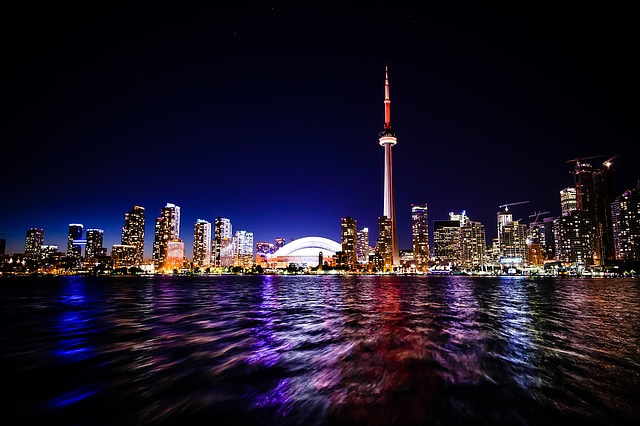 La tour CN a Toronto au Canada