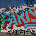 Street art de Paris en France