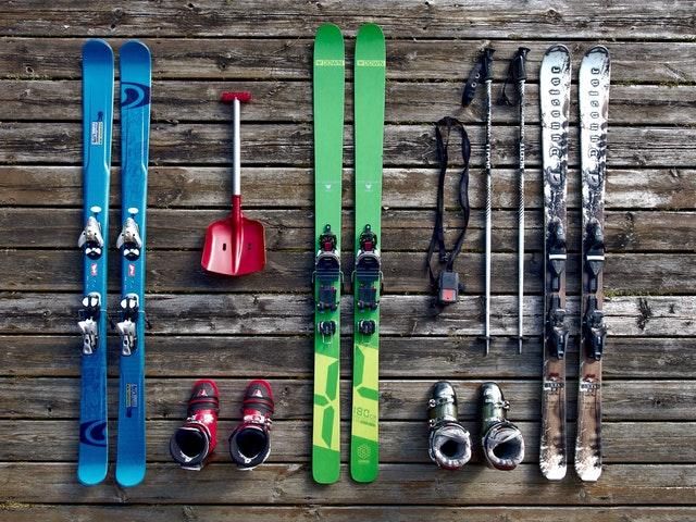 Materiels de ski