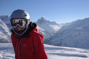 Skier a la montagne