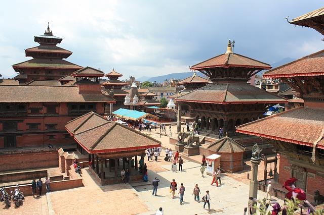 Cite royale de Patan Nepal