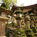 Monument historique a Nara au Japon