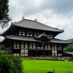 Temple a Nara au Japon