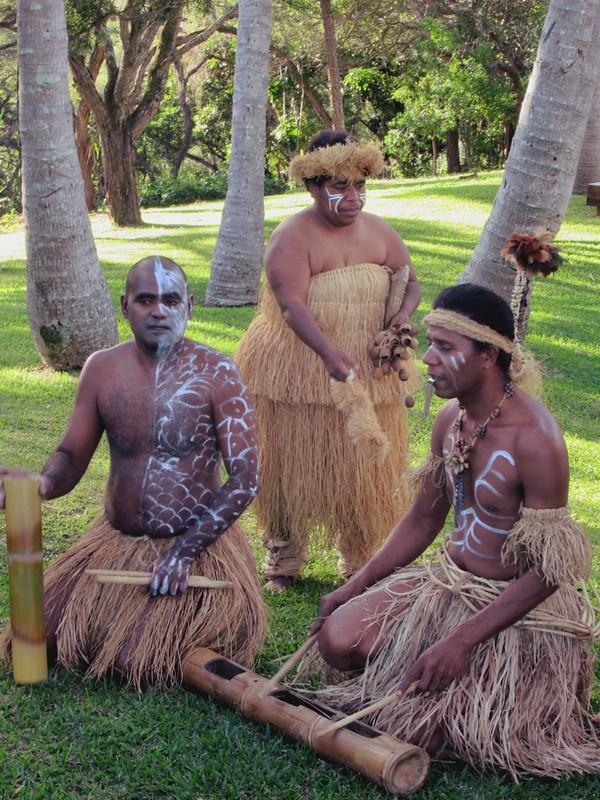 Peuple kanak en Nouvelle Caledonie