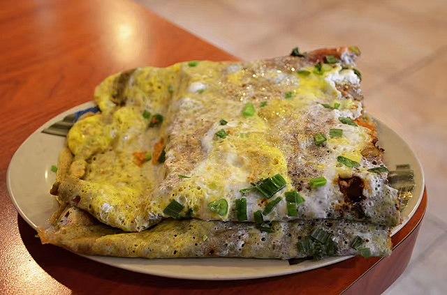 Jianbing Chine gastronomie