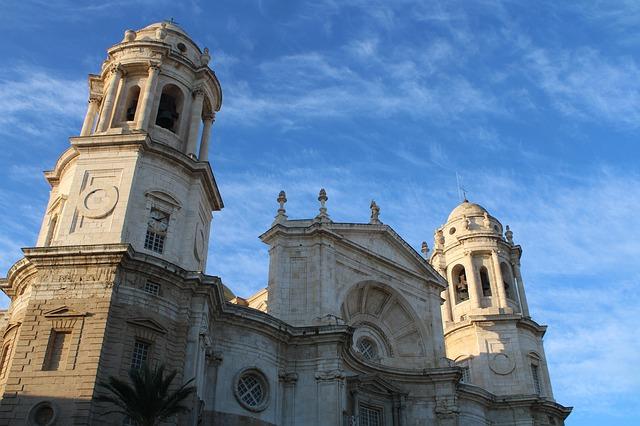 Cathedrale de Cadix en Andalousie Espagne
