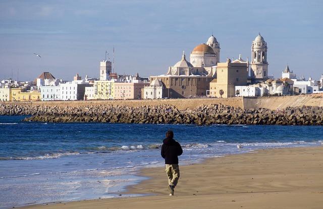 Cote de Cadix en Andalousie Espagne