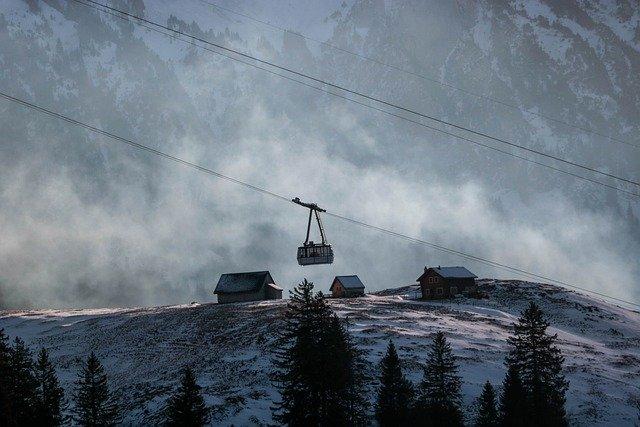Montagne pour skie