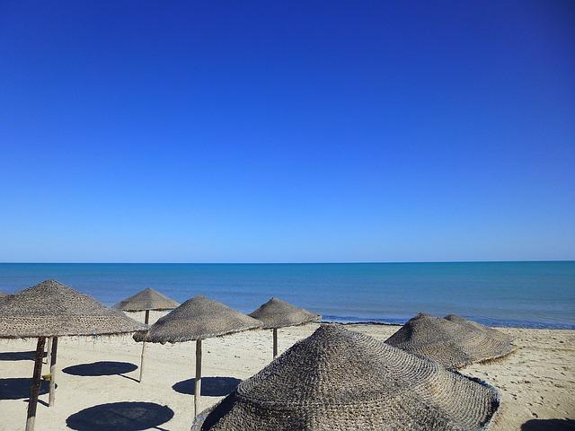 Plage Djerba Tunisie