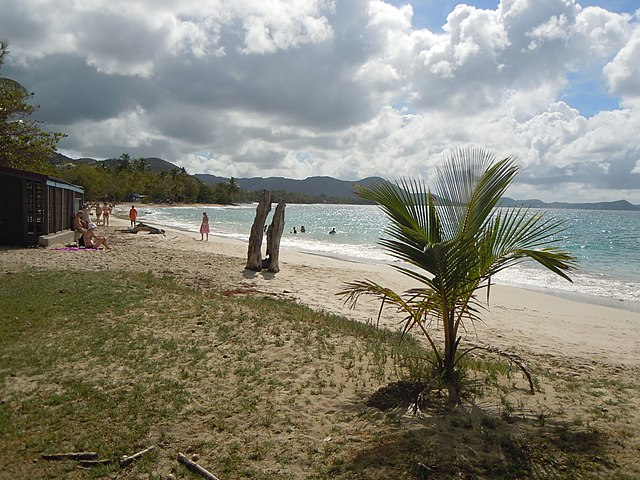 Plage de Corps de Garde Sainte Luce Martinique