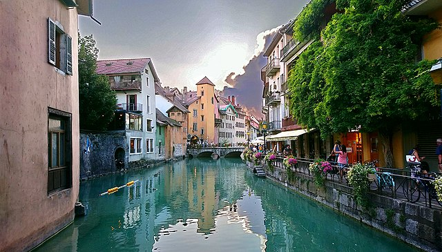 Annecy Thiou France