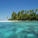 Atoll sur les iles Salomons Oceanie