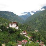 Lhuentse Dzong Bhoutan Asie