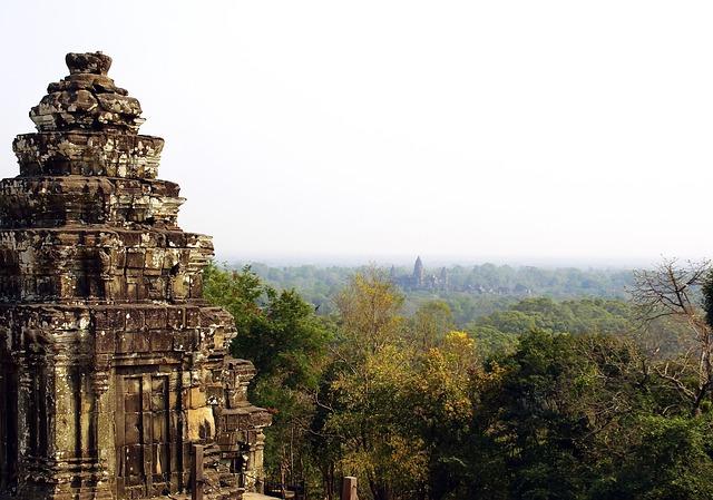 Paysage au Cambodge