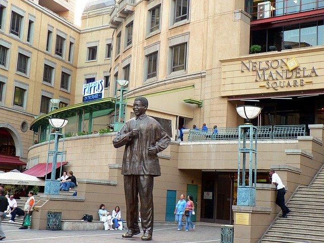 Place Nelson Mandela Johannersburg