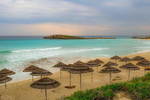 Ayia napa plage Chypre