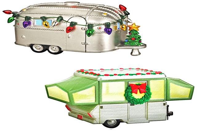 Camping car de noel