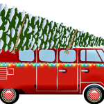 Decoration camping car noel.fw