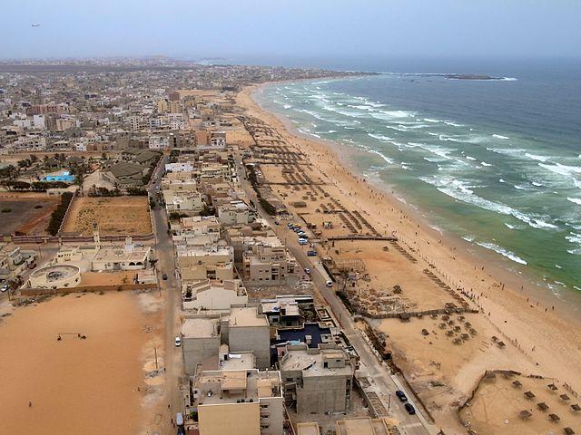 Plage de Yoff Dakar Senegal Afrique