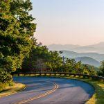 Blue Ridge Parkway Asheville USA Raod trip