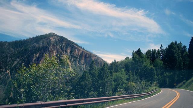 Col Independence Colorado USA road trip