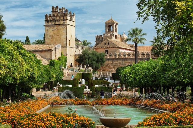 Alcazar de los Reyes Cristianos Cordoue Espagne