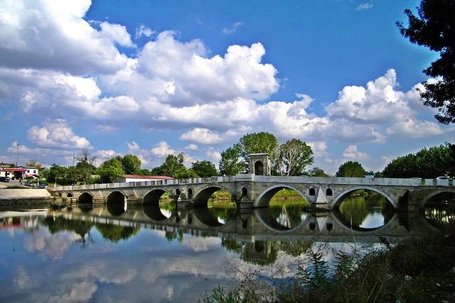 Edirne pont Turquie