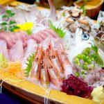 Plat de fruits de mer Hakodate Japon